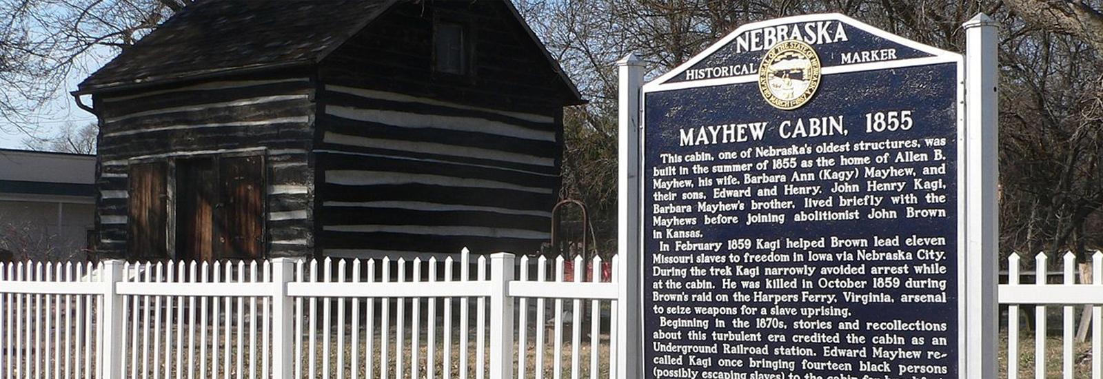 Mayhew Cabin